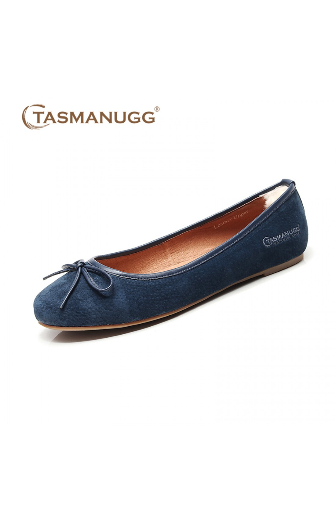 4112-Ballet Shoes-Navy